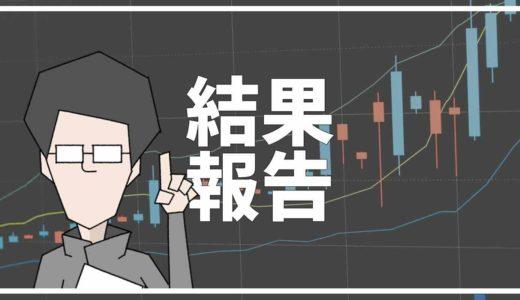 【8月4日更新】本日の「20代から始める資産運用」運用結果報告!