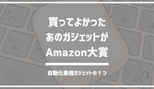 買って良かったもの1位のあの商品がAmazonランキング大賞2018に!