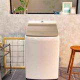 洗剤自動投入機能のタテ型洗濯機<NA-FW100K7>、パナソニックから登場。